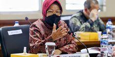 Raker dengan DPD, Risma Paparkan 2 Pilar Strategi Kemensos Tangani Kemiskinan