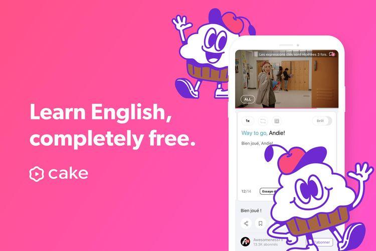 Ilustrasi aplikasi Cake