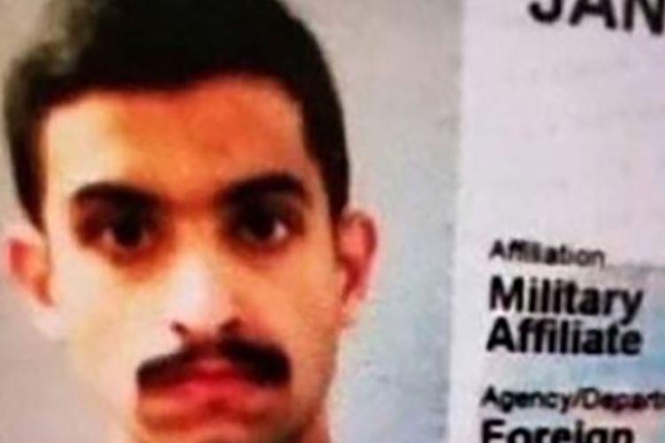 Gambar yang dirilis ABC News via ABC11 memperlihatkan foto yang diduga Mohammed al-Shamrani, tentara Arab Saudi yang diduga sebagai pelaku penembakan pangkalan AL AS Pensacola yang menewaskan tiga orang dan melukai delapan lainnya pada Jumat (6/12/2019).