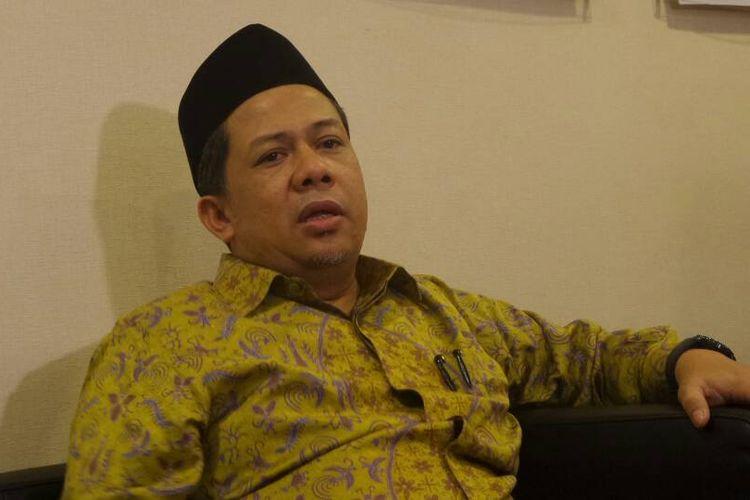 Wakil Ketua DPR RI Fahri Hamzah di Kompleks Parlemen, Senayan, Jakarta, Rabu (10/5/2017).