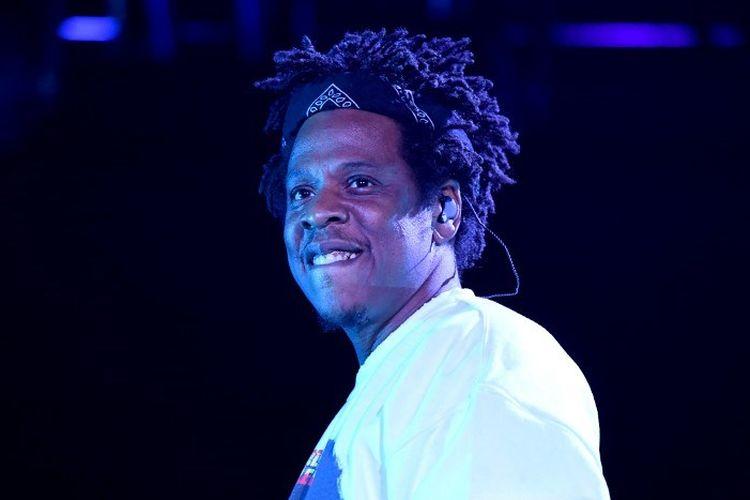 Artis musik Jay-Z tampil di panggung SOMETHING IN THE WATER di Virginia Beach City, pada 27 April 2019.