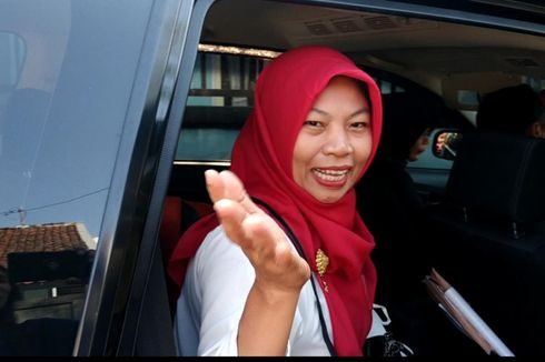 Berangkat ke Istana, Mimpi Baiq Nuril Ketemu Jokowi Jadi Kenyataan