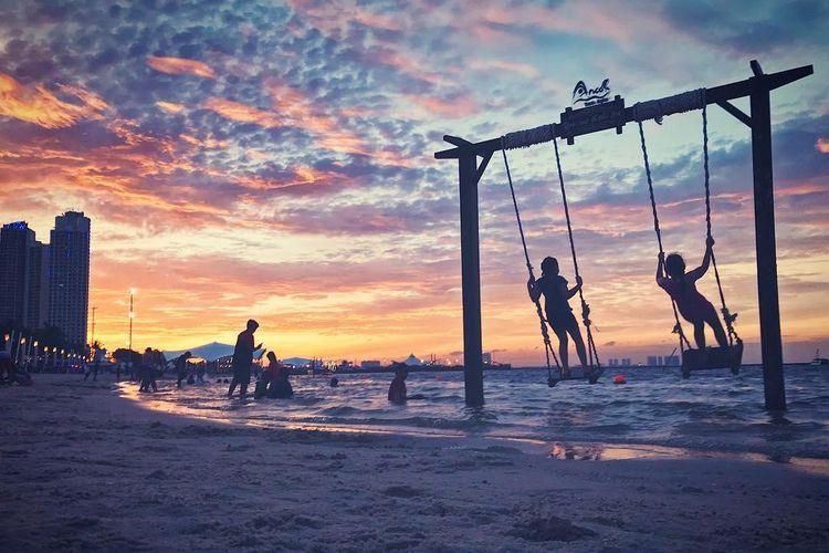 Pantai Lagoon, Ancol.