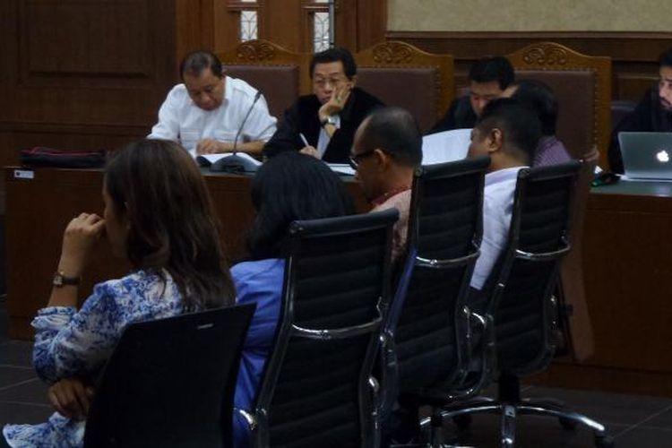 Persidangan untuk terdakwa mantan Kepala BPJN IX Maluku dan Maluku Utara, Amran HI Mustary, di Pengadilan Tipikor Jakarta, Senin (23/1/2017).