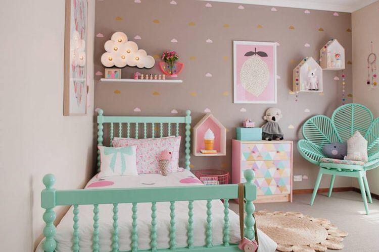 Furnitur unik di kamar tidur anak