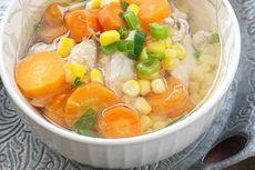 Resep Sup Jagung Telur Puyuh, Pilihan Makanan Saat Badan Kurang Fit