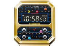 Casio Sertakan Pac-Man pada Arloji Retro Terbarunya