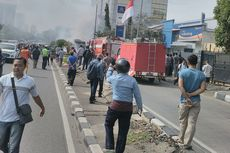 Bus AKAP Terbakar di Slipi, Kondektur dan Sopir Diamankan