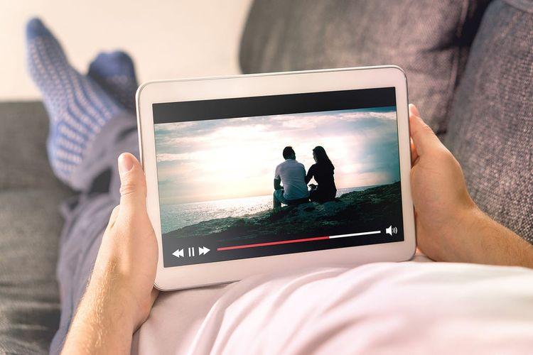 ilustrasi streaming video