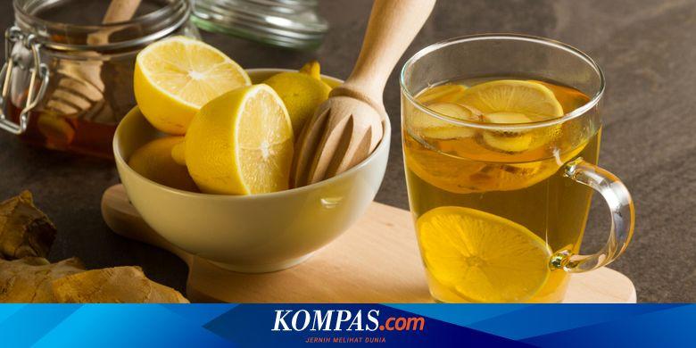 Ramuan Lemon Dan Jahe Benarkah Bisa Mengecilkan Perut Buncit Halaman All Kompas Com