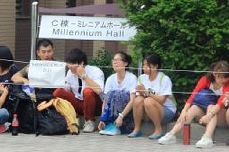 Ritsumeikan Asia Pacific University (APU) di Jepang menjadi salah satu destinasi favorit pelajar di Indonesia untuk melanjutkan pendidikan di jenjang perguruan tinggi. APU merupakan salah satu perguruan tinggi yang menahbiskan diri sebagai kampus internasional.