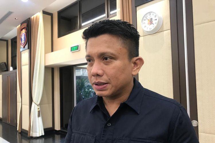Direktur Tindak Pidana Umum Bareskrim Polri Brigjen (Pol) Ferdy Sambo di Rupatama Mabes Polri, Jakarta Selatan, Kamis (13/2/2020).