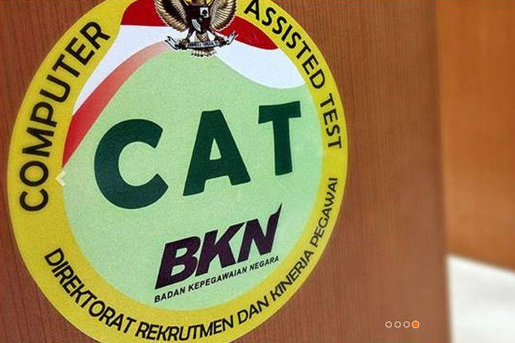 Web simulasi CAT yang disediakan Badan Kepagawaian Negara (BKN).