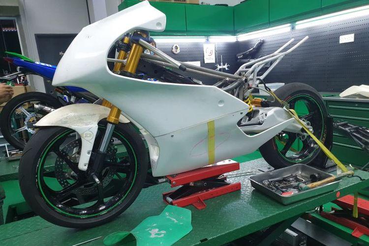 Prototipe motor balap Moto3 dari basis Yamaha Y15ZR alias MX King.