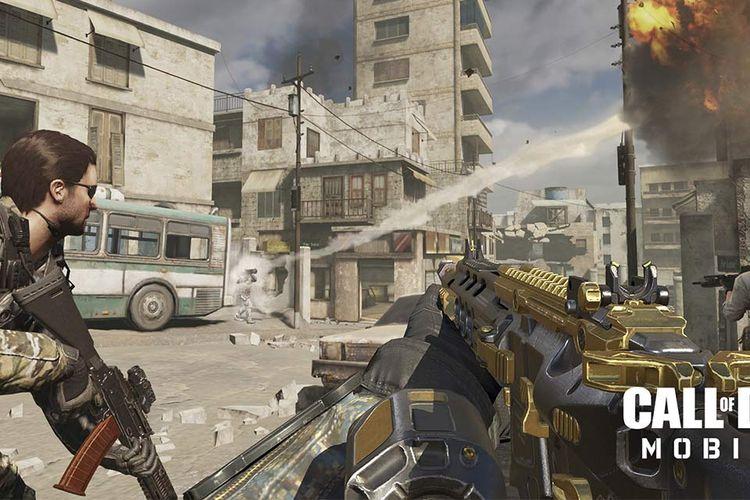Ilustrasi game Call of Duty Mobile