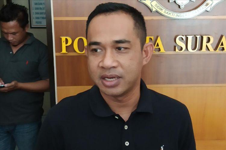 Kasat Reskrim Polresta Surakarta Kompol Fadli di Mapolresta Surakarta, Solo, Jawa Tengah, Jumat (26/7/2019).