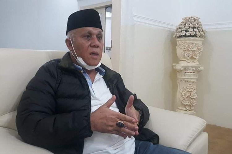 Bupati Aceh Tengah, Shabela Abubakar saat menjelaskan kronologi pengancaman oleh wakilnya sendiri, Kams (14/5/2020) malam di Pendopo Bupati Aceh Tengah..
