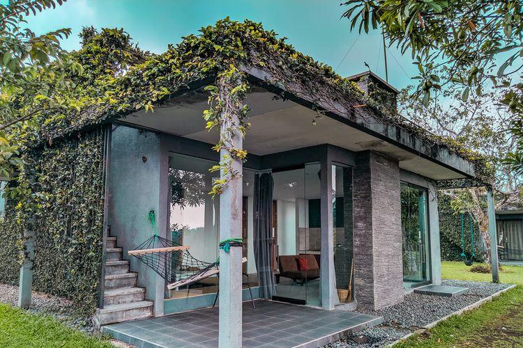 Penginapan bernama Tea Garden Resort di Kabupaten Subang, Jawa Barat.
