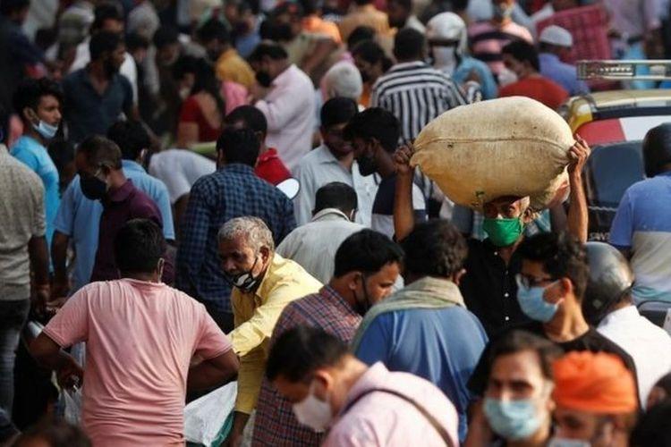 India hanya melaporkan 10 persen dari jumlah kematian dunia akibat virus corona.