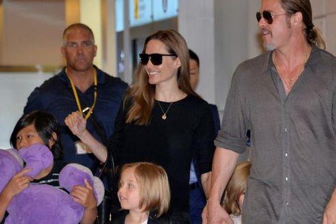 Akhirnya Brad Pitt Bisa Temui Anak-anaknya