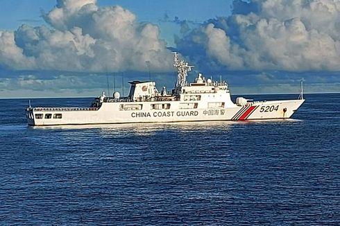 Sempat Bersitegang di Radio, Bakamla Usir Coast Guard China di Natuna