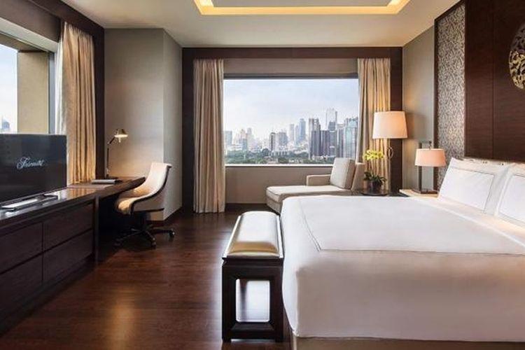 Karantina Mandiri Di Shangri La Hotel Dan Fairmont Jakarta Ini Biayanya Halaman All Kompas Com