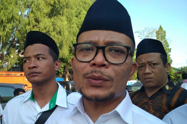 Menaker Hanif Dhakiri di Temanggung, Jawa Tengah, Minggu (28/10/2018).