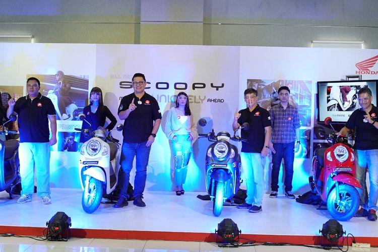 Astra Motor Jateng meluncurkan All New Scoopy secara virtual, Sabtu (21/11/2020).