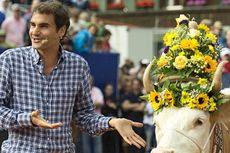 Hadiah Spesial buat Federer, Dulu Juliette Sekarang Desiree