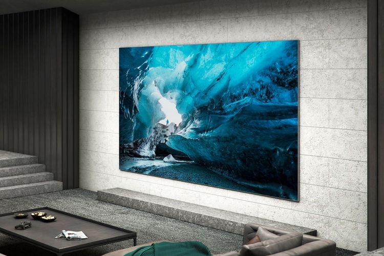 Ilustrasi TV Micro LED Samsung