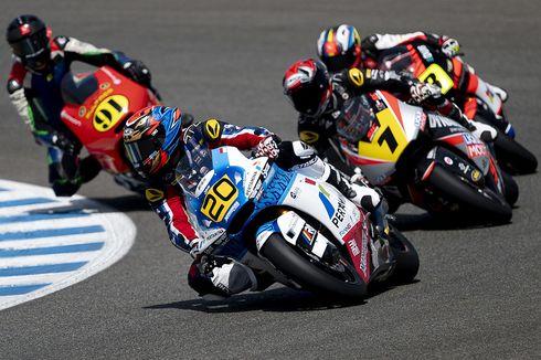 Dimas Ekky Finis Sepuluh Besar di CEV Moto2 Jerez