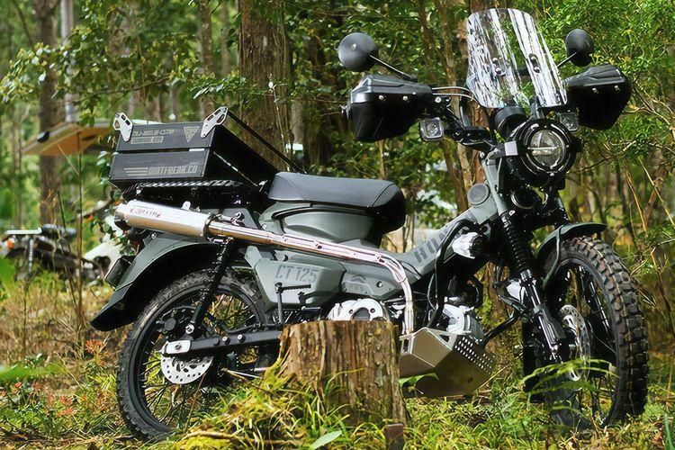 Honda CT125 Survival ADV garapan Dirtfreak
