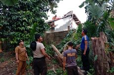 Angin Kencang, Pohon Tumbang Timpa Rumah Warga, Kerugian Rp 30 Juta