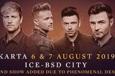 Penjualan Tiket untuk Konser Tambahan Westlife di Indonesia Dibuka Besok