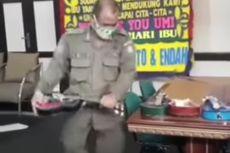 Oknum Satpol PP yang Videonya Viral Hancurkan Ukulele Pengamen Akan Diberi Sanksi