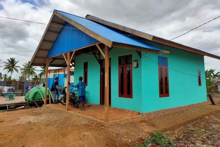 Bedah rumah di Provinsi Papua.