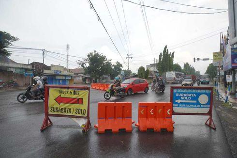 Cegah Penularan Corona, 11 Ruas Jalan Utama di Kota Madiun Ditutup
