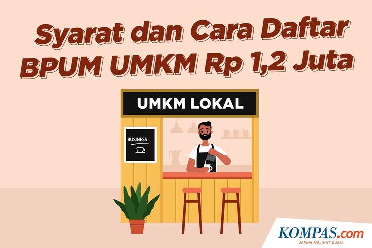 Syarat dan cara daftar BPUM UMKM Rp 1,2 juta.