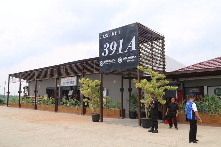 Rest area KM 391 A Tol Trans-Jawa