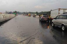 Tol Padaleunyi Km 130 Tergenang hingga 50 cm, Jasa Marga Lakukan Rekayasa Lalu Lintas