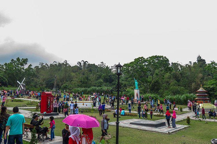 Obyek Wisata Merapi Garden di sekitar Gunung Merapi