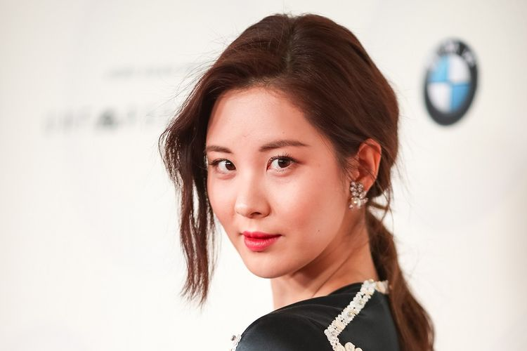 Member girl band SNSD atau Girls Generation Seohyun menghadiri acara The 16th Annual Unforgettable Gala yang digelar di The Beverly Hilton Hotel, Beverly Hills, California, pada 9 Desember 2017.