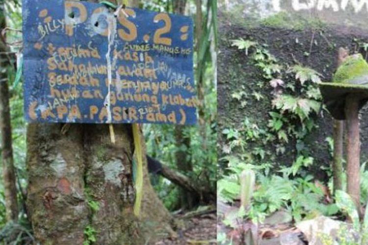 Pos pemberhentian kedua di Gunung Klabat Sulut. Tempat pendaki beristirahat usai menempuh pendakian cukup melelahkan sekitar dua jam. Batu besar dan topi berlumut di dekat pos ini sering jadi cerita. Banyak kisah mistis dialami pendaki saat istirahat malam hari di pos ini.