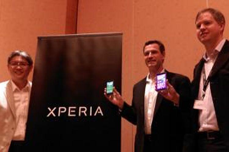 Peluncuran lini Sony Xperia dan Sony SmartWear baru yang