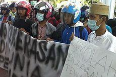 Siswi SMP Korban Pemukulan Dikeluarkan, HMI Bone Demo