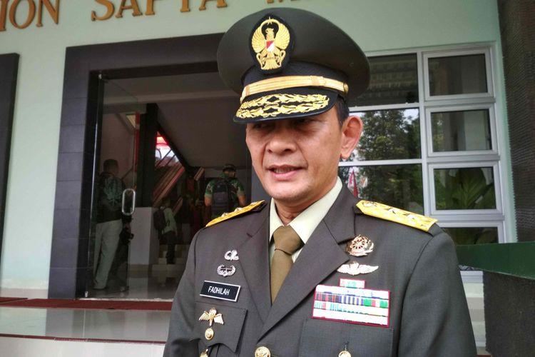 Kapuspen TNI Mayjen M Sabrar Fadhilah di Akmil Magelang, Selasa (15/5/2018).