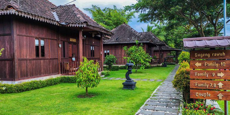 Bagaimana Bisa? Homestay di Balkondes Karangrejo, Borobudur Disebut Sandiaga Terbaik di Dunia, Seperti Apa?