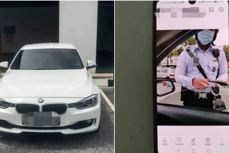 Seorang pengemudi BMW di Malaysia harus mendekam di kantor polisi karena menyumpahi dengan mengatakan kalian semua bullshit saat diberhentikan dan ditilang.