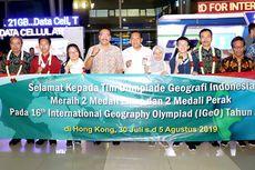 Keren, Tim Olimpiade Geografi Indonesia Raih Juara Umum Dunia!