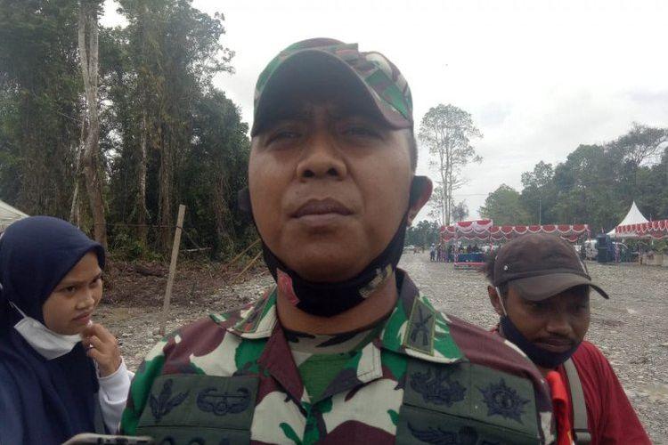 Komandan Kodim 1710 Mimika Letkol Inf Yoga Cahya Prasetya.